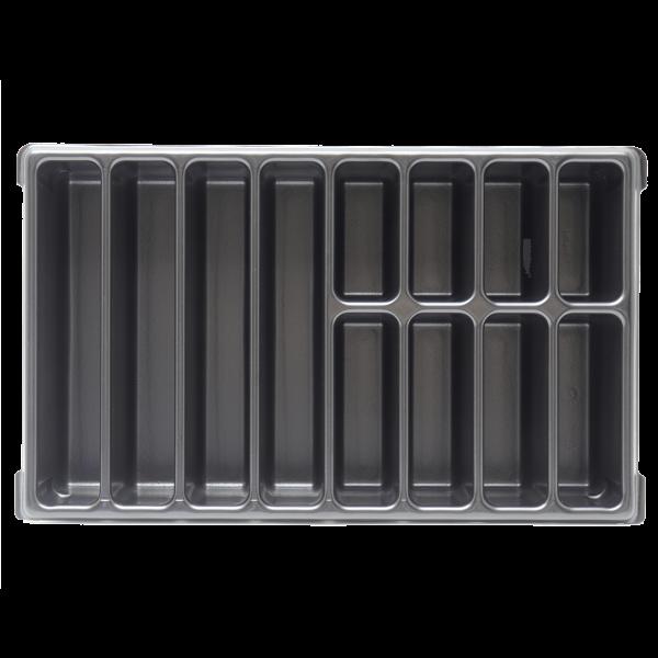 XL-BOXX Kleinteileeinsatz (Tiefzieheinlage) 12 Mulden/Fächer