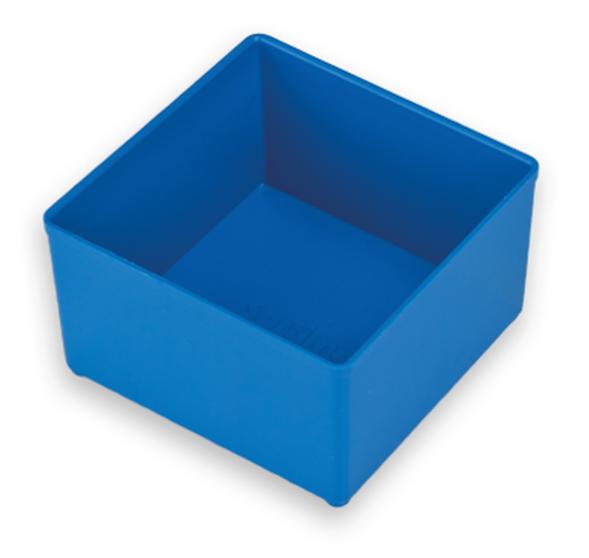 Insetbox (IB) C3 Blau, Raster 2x2, 104 x 104, 63 mm hoch