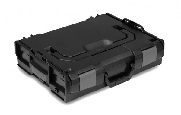 L-BOXX 102 Solo Schwarz/Anthrazit (Industrial Line Standard)