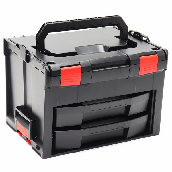 LS-BOXX 306 inkl.2 x LS-Tray 72 Schwarz/Rot Edition online kaufen