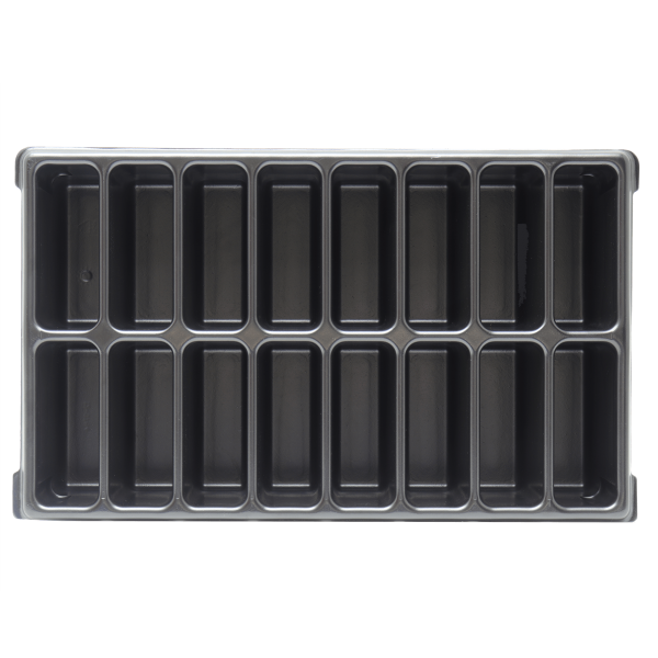 XL-BOXX Kleinteileeinsatz (Tiefzieheinlage) 16 Mulden/Fächer