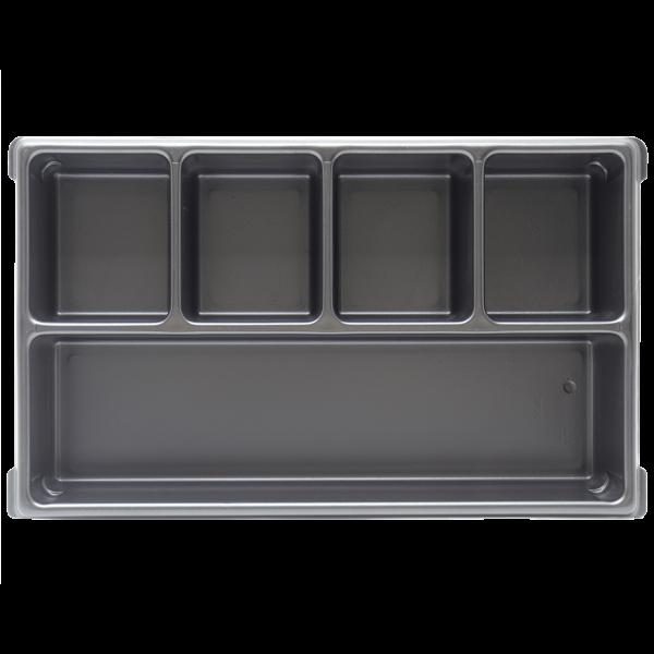 XL-BOXX Kleinteileeinsatz (Tiefzieheinlage) 5 Mulden/Fächer
