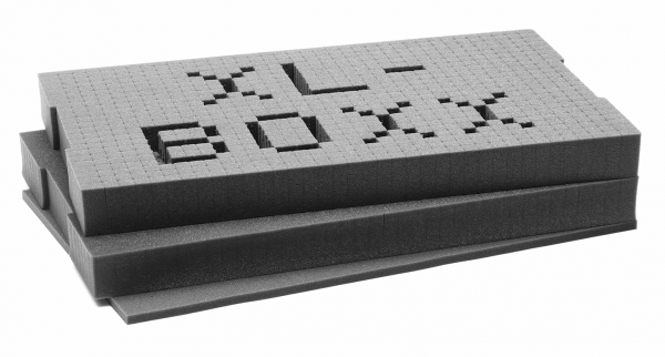 XL-BOXX Rasterschaumstoff bestehend aus 3 Teilen (10 mm + 2 x 50 mm) online kaufen