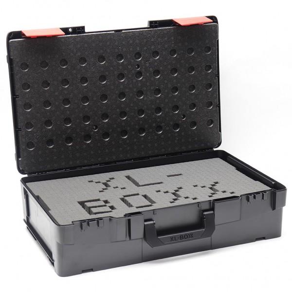 XL-BOXX Schwarz/Rot Edition mit Deckeleinlage aus EPP und Rasterschaum online kaufen