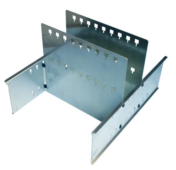 LT-BOXX 272/408 Trennblech-Set 3F (Variabel steckbare Trennwände) online kaufen