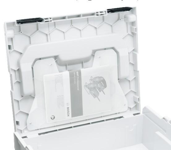 Klarsichttasche für L-BOXX online kaufen, Bosch Sortimo kompatibel
