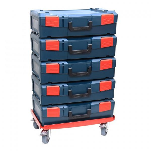 XL-BOXX 5er Set + XL-Transportroller