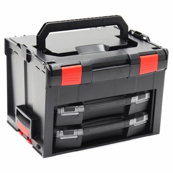 LS-BOXX 306 inkl. 2 x i-BOXX Schwarz/Rot Edition online kaufen