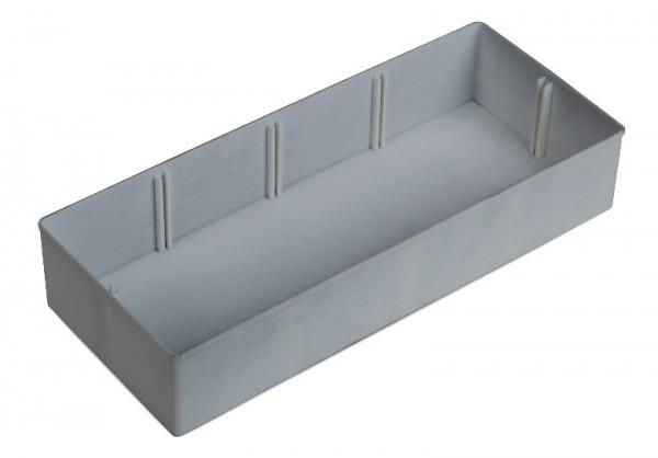 Insetbox (IB) K3 grau, Raster 6 x 2,5, 63 mm hoch (Trennwand optional verfügbar)