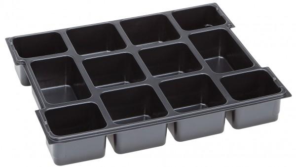 Kleinteileeinsatz 12 Mulden für L-BOXX 102