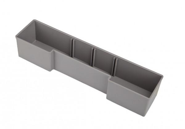 Insetbox U3 grau, teilbar mit Trennwand (TW) optional, U3, Raster 6 x 1, 63 mm hoch, Industrial/Trade Line online kaufen