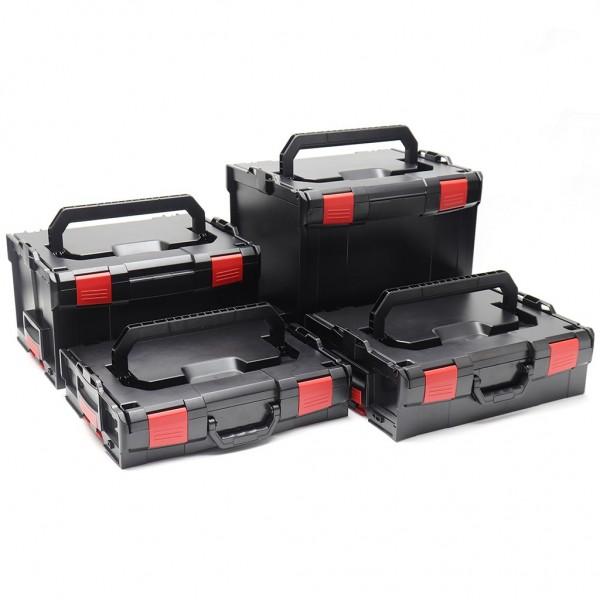 L-BOXX Set 102 + 136 + 238 + 374 Schwarz Rot Edition online kaufen