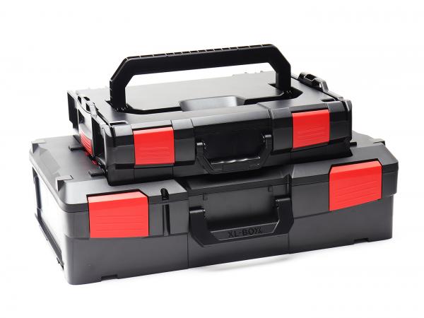 XL-BOXX Solo + L-BOXX 102 Solo Schwarz/Rot Edition im 2er Set online kaufen