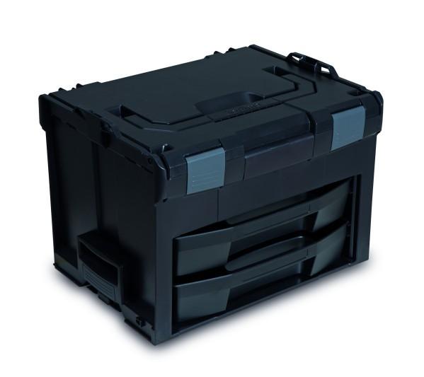LS-BOXX 306 inkl 2 x  LS-Tray 72 Industrial Line Standard Schwarz/Anthrazit online kaufen