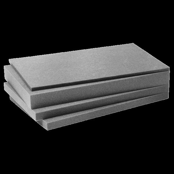 XL-BOXX Deckel- und Korpus-Weich-Schaumstoffeinlage Protect 1011 (4-teilig)