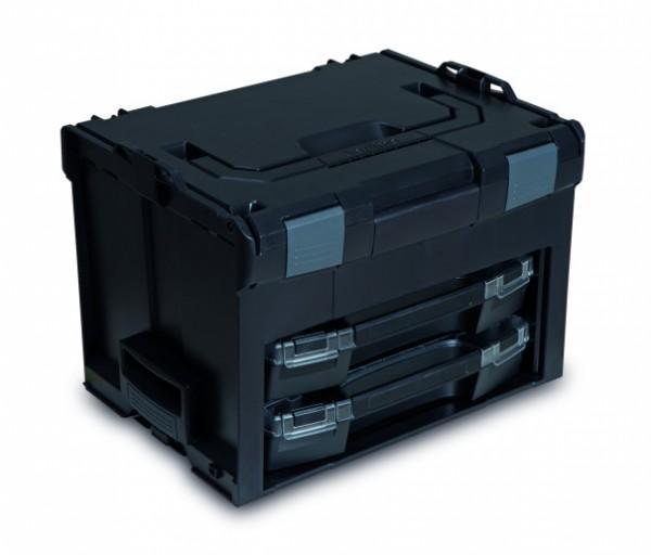 LS-BOXX 306 inkl. 2 x i-BOXX + Insetboxenset H3/I3 Industrial Line Standard Schwarz/Anthrazit online kaufen